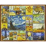White Mountain Puzzles Great Painters Collection - Vincent Van Gogh - 1,000 Piece Jigsaw Puzzle