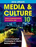 img - for Media & Culture 2016 Update: Mass Communication in a Digital Age book / textbook / text book