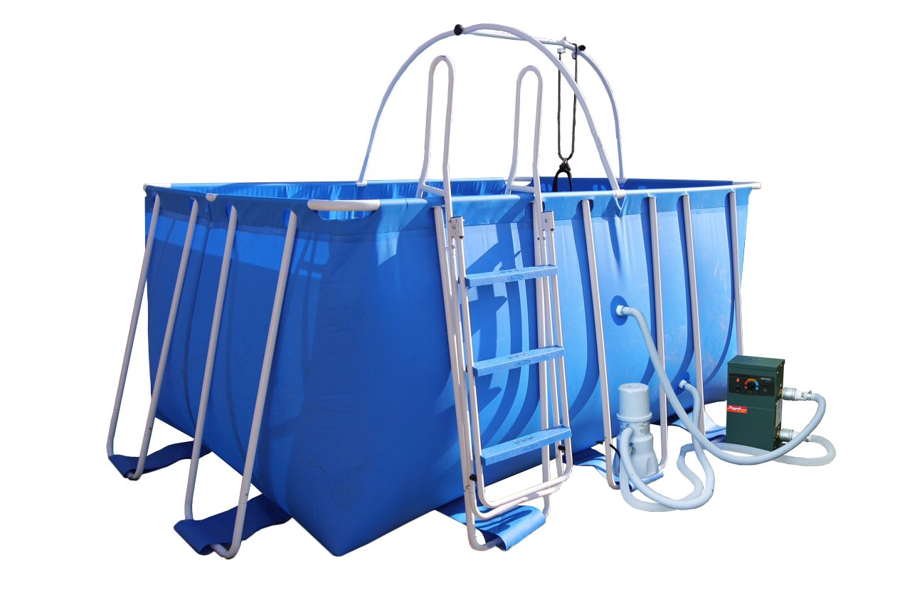 iPool 7ft x 10ft x 54in Deluxe Above Ground Exercise Swimming Pool Review
