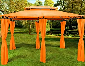 4x3 gazebo orange mod orange garden ForGazebo 4x3 Amazon