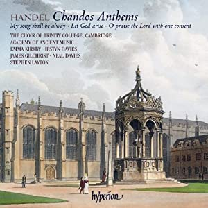 Handel Chandos Anthems by HYPERION