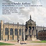 Handel: Chandos Anthemsby George Frideric Handel