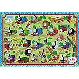 35ピース 子供向けジグソーパズル きかんしゃトーマス せんろをつなごう ピクチュアパズル