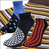 足袋ソックス メンズ ( 男性用 ) 足袋 ソックス 30 和柄  くるぶしまでの短い ショート しっかりした厚手、靴下 (くつ下/くつした)