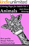 Coloring Pages For Adults: Animals: S...