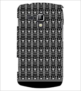 PrintDhaba Pattern D-1639 Back Case Cover for SAMSUNG GALAXY S DUOS S7562 (Multi-Coloured)