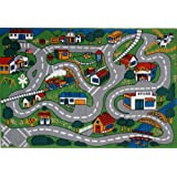 "LA Rug Country Fun Rug 51""x78"""