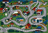 LA Rug Country Fun 19-by-29-Inch Play Rug