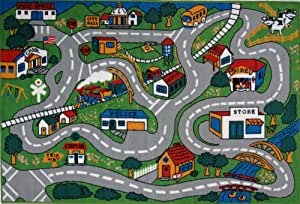 "LA Rug Country Fun Rug 39""x58"""