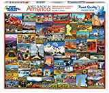 White Mountain Puzzles Best Places In America - 1000 piece Jigsaw Puzzle