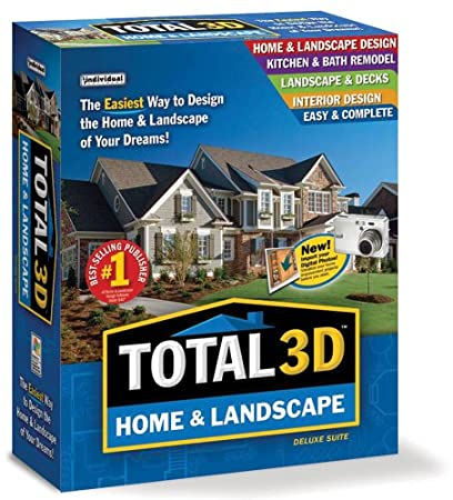 Total 3D Home & Landscape Design Suite Version 9 [Old Version]