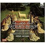 J.S.バッハ : マタイ受難曲 BWV244 (Johann Sebastian Bach : Matthaus ~ Passion / Rias Kammerchor | Akademie fur Alte Musik Berlin | Rene Jacobs) (2CD) [輸入盤] [日本語解説・歌詞訳付]