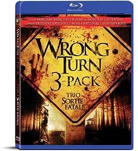Wrong Turn Bd 3pk Cb Sm [Blu-ray] (Bilingual)