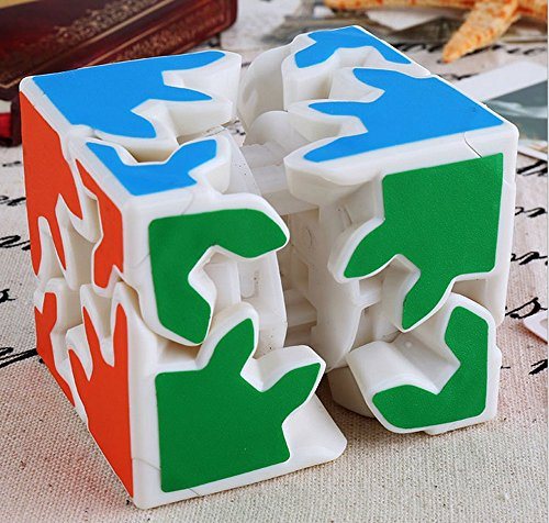 2x2 Magic Gear Plastics Cube Puzzles Toys-Unisex Children magic cube magique cubos magicos puzzles magic square anti stress toys inhalation for children toys children mini 70k560