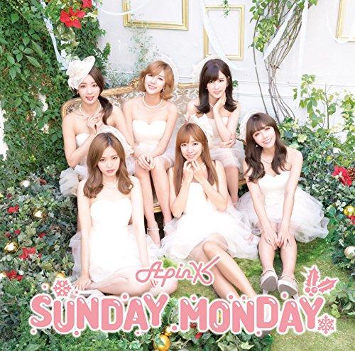 SUNDAY MONDAY -Japanese Ver.-(初回生産限定盤B)(CD+DVD)