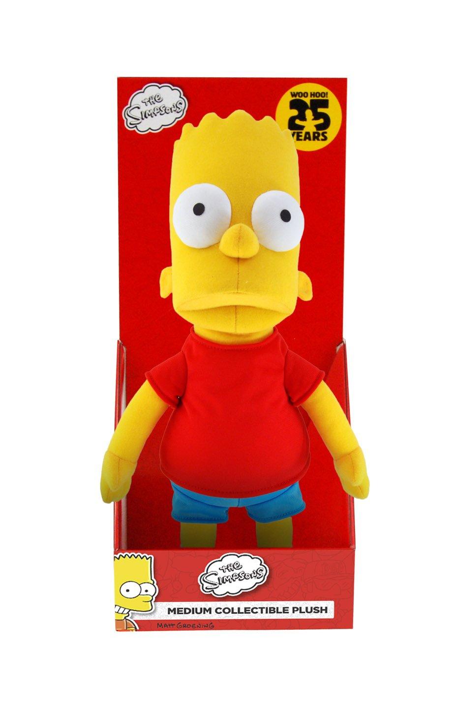 The Simpsons Medium Bart Plush