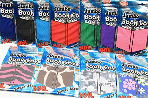 It's Academic JUMBO XXL Book Cover **PINK** Super Stretchy up to 10