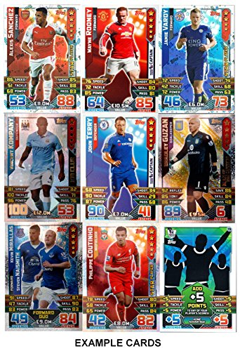 Best deals 2015 2016 topps match attax english premier for Best cards of 2015