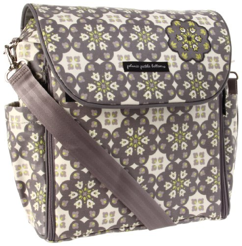 Petunia Pickle Bottom Boxy Backpack Diaper Bag (Misted Marseille)
