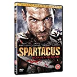 Spartacus: Starz Series - Blood And Sand Season 1 Including DVD Exclusive Extras + Audio Commentaries + Behind The Scenes (4 Disc Box Set) [DVD]