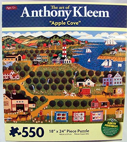 Art of Anthony Kleem 550 Piece Jigsaw Puzzle: Apple Cove