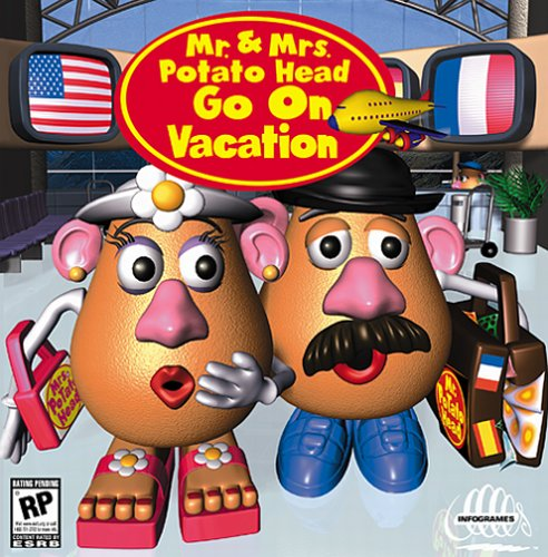 Mr. And Mrs. Potato Head Go On Vacation
