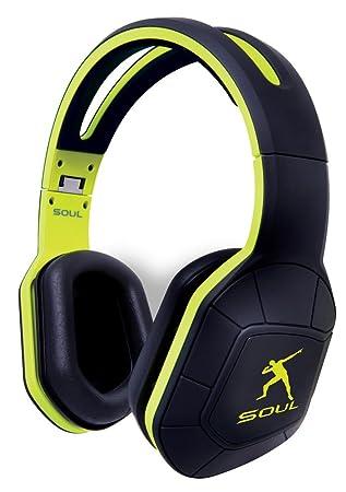 Soul Combat+ Ultimate Active Performance Over Ear Headphones - Lightening Green