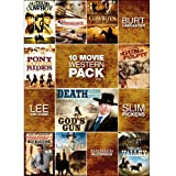 10-Movie Western Pack, Vol. 2 (Nothing Too Good For a Cowboy / Kid Vengeance / Cowboys Don't Cry / Pony Express Rider / Gun and the Pulpit / Death Rides a Horse / God's Gun / Ned's Blessing / Against Sky)
