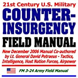 echange, troc Department of Defense - 21st Century U.S. Military Counterinsurgency Field Manual - Tactics, Intelligence, Host Nation Forces, Airpower (Ring-bound)