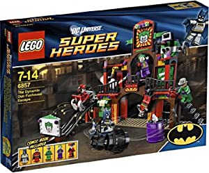 Lego 6857 Exclusive set The Dynamic Duo Funhouse Escape