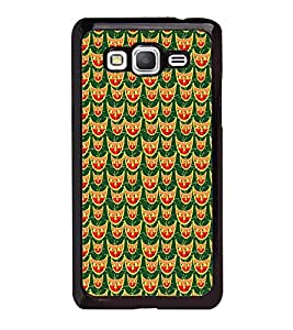 Fuson Premium 2D Back Case Cover Mask pattern design With black Background Degined For Samsung Galaxy A5::Samsung Galaxy A5 A500F