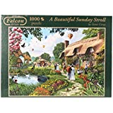 Falcon de Luxe - A Beautiful Sunday Stroll Jigsaw Puzzle (1000 Pieces)