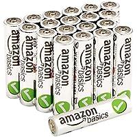 20-Pk. AmazonBasics AAA Alkaline Batteries