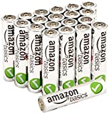 AmazonBasics AAA Performance Alkaline Batteries (20-Pack)