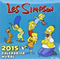 Calendrier mural Les Simpson 2015