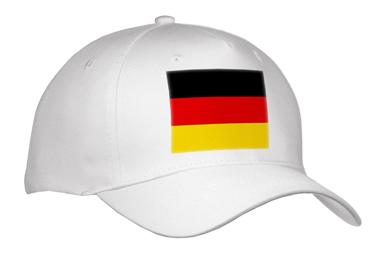 InspirationzStore Flags - Flag of Germany - German black red yellow gold horizontal stripes - European Europe country world - Caps room id flag system 6 flags primary colors