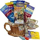Art of Appreciation Gift Baskets Spot of Tea Sampler Gift Basket