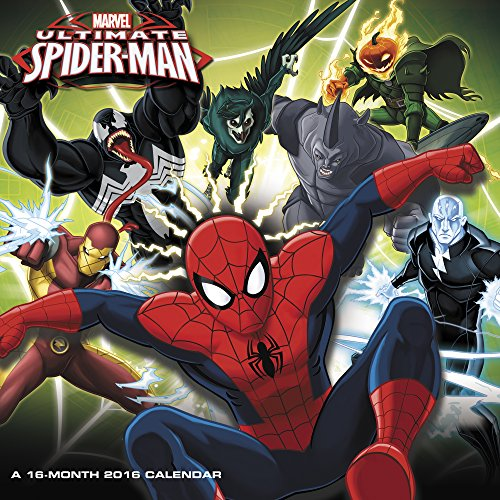 Ultimate Spider-Man Wall Calendar (2016)