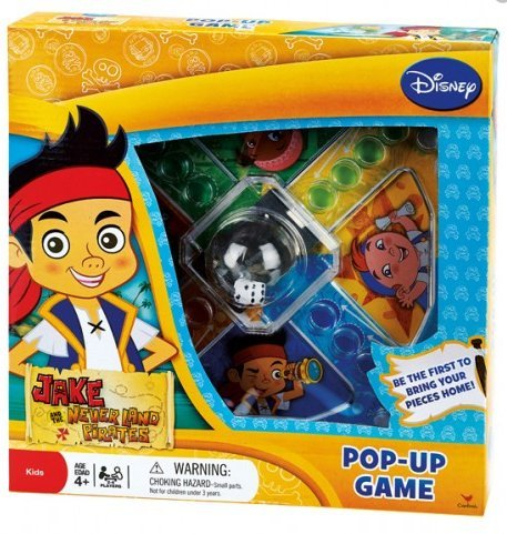 Disney Jake and the Neverland Pirates Popper Jr. Game