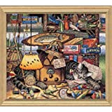 Gold Collection Max In The Adirondacks Counted Cross Stitch-14