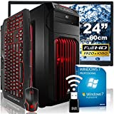 AGANDO-Extreme-Gaming-PC-Komplettpaket-AMD-FX-8320-8x-35GHz-AMD-Radeon-RX-480-8GB-OC-16GB-RAM-240GB-SSD-1000GB-HDD-DVD-RW-MSI-Gaming-Mainboard-USB30-Killer-LAN-AUDIO-BOOST-60cm-24-TFT-Gaming-Tastatur-