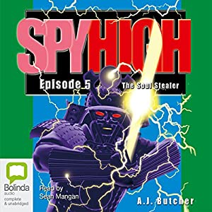 Spy High 5 Audiobook