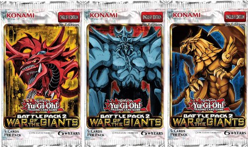 YuGiOh Battle Pack 2 War of the Giants Booster Pack - 1