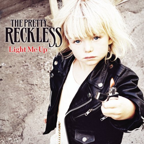Original album cover of Light Me Up by The Pretty Reckless
