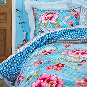 Pip Bettwäsche Pip Studio Bettwäsche Chinoise Light Blue 135x200