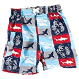 Mick Mack Boys Swim Shorts With Sharks