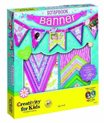 Creativity for Kids Scrapbook Banner