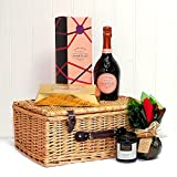 Laurent-Perrier Rose Champagne Ladies Indulgence Hamper - Gift Ideas for Valentines Day, Mothers Day, Christmas Presents, Her, Mum, Wife, Women, 18th 21st 30th 40th 50th 60th 70th 80th 90th Birthday Gifts, Wedding Anniversary Engagement Thank You Corpora