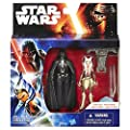 Star Wars Rebels 375-inch Figure 2-pack Space Mission Darth Vader And Ahsoka Tano from Hasbro