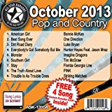 All Star Karaoke October 2013 Pop and Country Hits A (ASK-1310A)